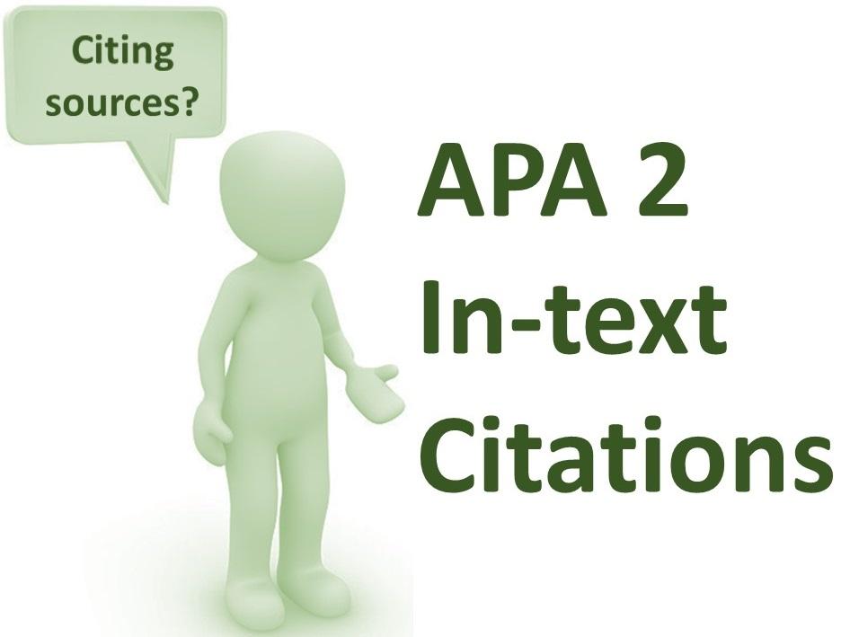 APA 2 In-text Citations -- Del Rio -- Thur 4:00 -- Mar 5