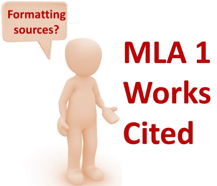 MLA 1 Works Cited -- Del Rio -- Thur 4:00 -- Apr 2